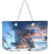 Fire In The Sky - 1 Weekender Tote Bag