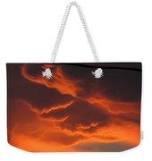 Fire In The Sky Weekender Tote Bag