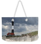 Fire Island Light From The Beach Weekender Tote Bag