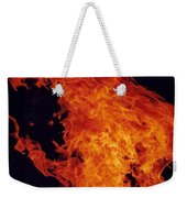 Fire Man Weekender Tote Bag