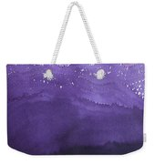 Fire On The Mountain Original Painting Weekender Tote Bag