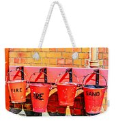 Fire Safety Weekender Tote Bag