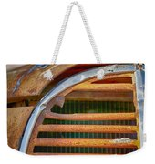 Fire Truck Grill Weekender Tote Bag