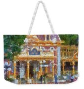 Fire Truck Main Street Disneyland Photo Art 02 Weekender Tote Bag