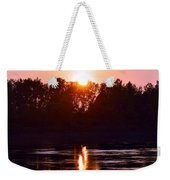 Fire Water Weekender Tote Bag