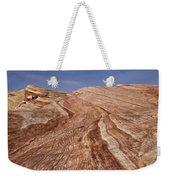 Fire Wave - Valley Of Fire Weekender Tote Bag