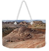 Fire Wave Weekender Tote Bag