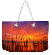 Fired Up Morn Weekender Tote Bag