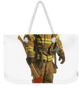 Firefighter Weekender Tote Bag