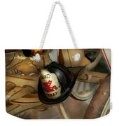 Firefighter - Somewhere To Hang Hat  Weekender Tote Bag
