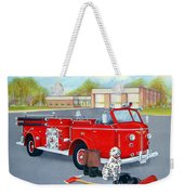 Firefighter - Still Life Weekender Tote Bag