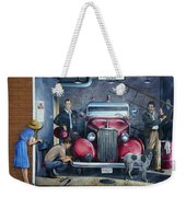 Firehall Mural Sultan Washington 1 Weekender Tote Bag