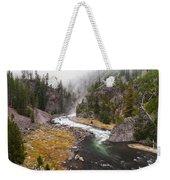 Firehole Canyon - Yellowstone Weekender Tote Bag