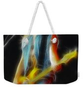 Firehouse-gc3a-fractal Weekender Tote Bag