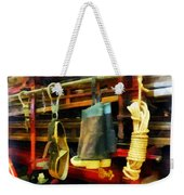Fireman - Boots And Fire Gear Weekender Tote Bag