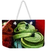 Fireman - Coiled Fire Hoses Weekender Tote Bag