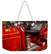 Fireman - Fire Engine No 3 Weekender Tote Bag by Mike Savad