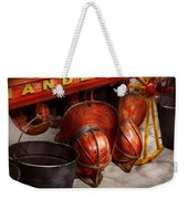 Fireman - Hats - I Volunteered For This  Weekender Tote Bag by Mike Savad