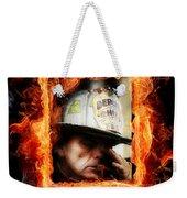 Fireman Hero Weekender Tote Bag