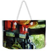 Fireman - Inside The Fire Truck Weekender Tote Bag
