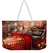 Fireman - Mastic Chemical Co Weekender Tote Bag by Mike Savad