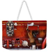 Fireman - Old Fashioned Controls Weekender Tote Bag