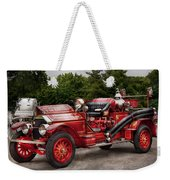 Fireman - Phoenix No2 Stroudsburg Pa 1923  Weekender Tote Bag by Mike Savad