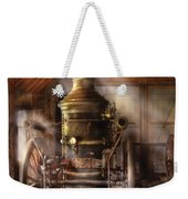 Fireman - Steam Powered Water Pump Weekender Tote Bag