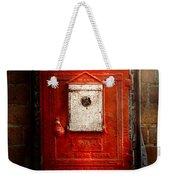 Fireman - The Fire Box Weekender Tote Bag