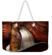 Fireman - The Fire Chief Weekender Tote Bag by Mike Savad