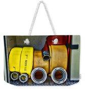 Fireman - The Fire Hose Weekender Tote Bag