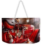 Fireman - Truck - Waiting For A Call Weekender Tote Bag