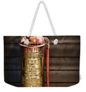 Fireman - Vintage Fire Extinguisher Weekender Tote Bag