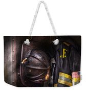 Fireman - Worn And Used Weekender Tote Bag