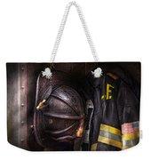 Fireman - Worn And Used Weekender Tote Bag