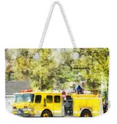 Firemen - Back At The Firehouse Weekender Tote Bag
