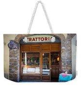 Firenze Trattoria Weekender Tote Bag