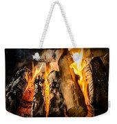 Fireplace II Weekender Tote Bag