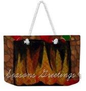 Fireplace - Seasons Greetings Weekender Tote Bag
