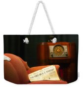 Fireside Chats With Fdr 01 Weekender Tote Bag