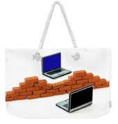 Firewall Protection For Laptops Weekender Tote Bag