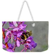 Fireweed Bee Weekender Tote Bag