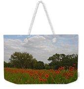 Firewheel Field Weekender Tote Bag