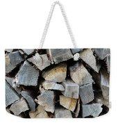 Firewood Weekender Tote Bag