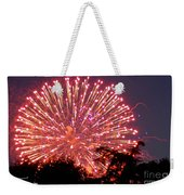 Fireworks 2014  1 Weekender Tote Bag