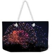 Fireworks 2014  3 Weekender Tote Bag