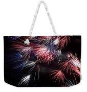 Fireworks 9 Weekender Tote Bag by Sandy Swanson