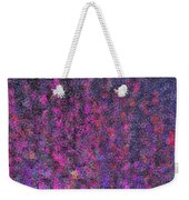 Fireworks Abstract Weekender Tote Bag