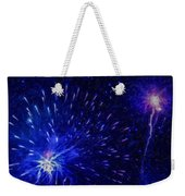 Fireworks At Night 1 Weekender Tote Bag