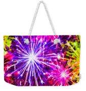 Fireworks At Night 7 Weekender Tote Bag